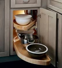 Blind Corner Storage Systems Kraftmaid Kitchen Innovations And Storage Solutions