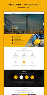 construction multipurpose psd template by unicoder