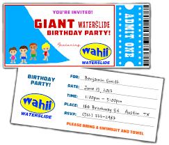 water party invitations u2013 gangcraft net