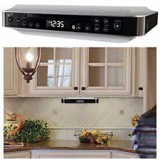 Under Kitchen Cabinet Tv Dvd Cd Player Radio Under Cabinet Radio Ebay