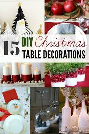 simple christmas table decorations diy christmas table decorations 15 simple holiday table decorations