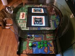 convert a wine barrel into a legend of zelda arcade machine