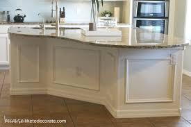 28 wainscoting kitchen island kitchen makeover 1 4 island