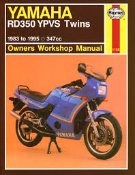 haynes m1158 repair manual for 1983 95 yamaha rd350 ypvs twins