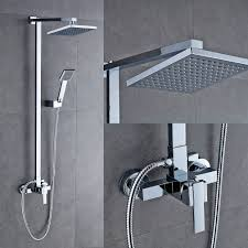 auralum bathroom mixer shower set with square 8 auralum bathroom mixer shower set with square 8