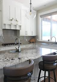 grey kitchen cabinets with white countertop painting kitchen cabinets how to the best paint colour