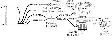 autometer phantom tach wiring diagram autometer wiring diagrams