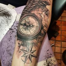 tattoo compass realistic jordancbellart nautical map and compass map compass nautical