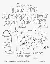 christian easter coloring pages resurrection best of creativemove me
