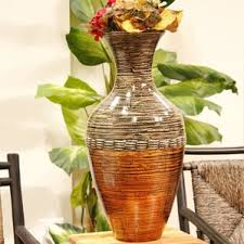 Wicker Vases Floor Vases You U0027ll Love Wayfair