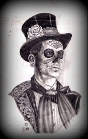 simple halloween tattoo flash 16 best day of the dead tattoos for men images on pinterest day