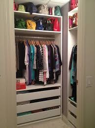 coat closet organization to fit all items inside chocoaddicts