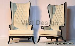 Armchair High Back High Back Gothic Throne Chairs High Back Chair Executive Lounge