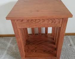 mission end table etsy