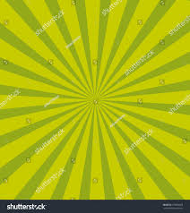 green pop sunburst background commercial vector stock vector