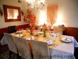 Thanksgiving Dinner Table by Thanksgiving Dinner Table Decorations