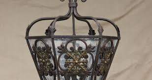 Wrought Iron Ceiling Lights Black Wrought Iron Ceiling Light Fixture Ceiling Lights