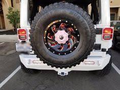 3rd brake light led ring smoke high mount third brake light spare tire light ring for jeep