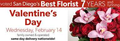 same day delivery flowers valentines day voted best florist in san diego san diego ca