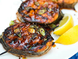 grilled salmon steak medallions recipe serious eats