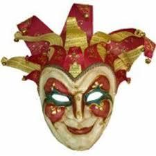 jester mask venetian style masks are great mardi gras decoration