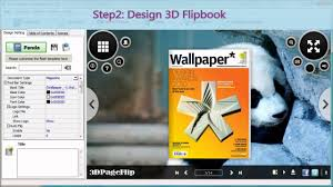 3d flipbook course output digital flipbook as exe format with 3d