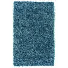 Overstock Com Pets Hand Woven Teal Blue Milwaukee Soft Plush Shag Rug 8 U0027 X 10 U00276