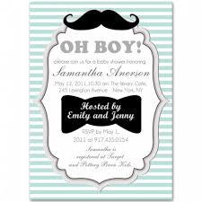 Blank Invitations Wonderful Boy Baby Shower Blank Invitations Looks Efficient Baby