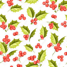 christmas mistletoe mistletoe seamless pattern for christmas theme seamless christmas