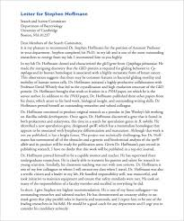 8 letter of recommendation for student u2013 free sample example