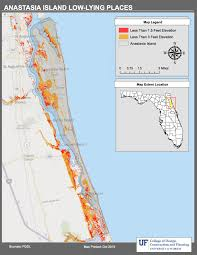 Map Of Kissimmee Florida by Maps Planning For Sea Level Rise In The Matanzas Basin