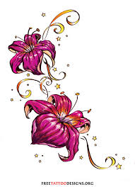 stars flower and ladybug tattoos tattoo designs to enlarge