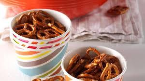 party pretzels recipe taste of home