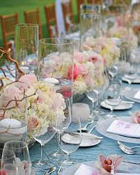 Pink And Gold Table Setting by 37 Pink Wedding Centerpieces Martha Stewart Weddings