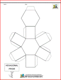 geometric shapes template 3d geometric shapes nets geometric