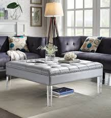 tufted leather chair and ottoman ottomans cream tufted loveseat black tufted sofa white tufted
