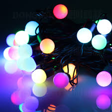 Christmas Lighted Balls Outdoor by Multi Colored Christmas Lights Christmas Lights Decoration