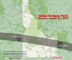 idaho zone map idaho eclipse usa