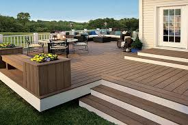 Backyard Decking Ideas by Composite Decking Installing Composite Decking Safety Wpc