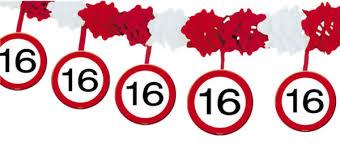 geburtstagsspr che zum 16 ballonsupermarkt onlineshop de geburtstagsgirlande zum 16