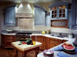 Painting Kitchen Cabinet Doors Pictures  Ideas From HGTV HGTV - Painted kitchen cabinet doors