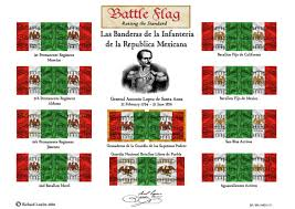 Mexico Flags 15mm Mexican Flags Battle Flag