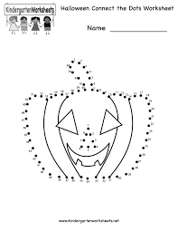 free haloween images halloween connect the dots worksheet free kindergarten holiday