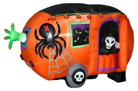 gemmy airblown animated halloween camper inflatable hayneedle