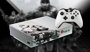 xbox one consoles and bundles xbox custom painted u0027gears of war u0027 xbox one console and elite
