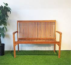 stackable teak wood bench u2013 hemma online furniture store singapore