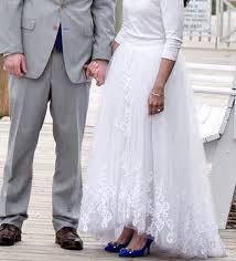 palermo wedding dress palermo inspire high low slit wedding skirt