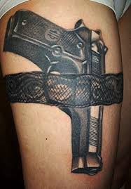 35 awesome gun tattoo designs art and design