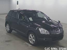 nissan pathfinder japanese used cars 2008 nissan dualis black for sale stock no 37246 japanese