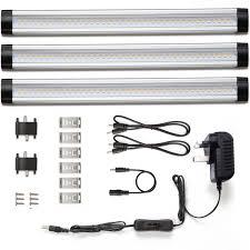 under cabinet led strip lights kit knightsbridge led3wcw 3w led ultra thin linear linkable strip
